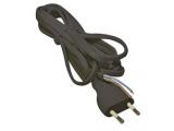Kábel napájací flexo 2x0,75mm 250V 2m