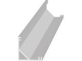 Lišta AL LED 45° rohová Profil V 2m