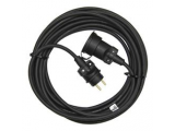 Predlžovací kábel 25m 3x1,5mm IP65