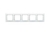 Rámik 5-násobný 774455 biely Valena