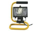Reflektor 150W čierny s držiakom