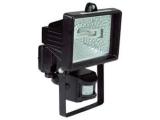 Reflektor 150W/C čierny so senzorom