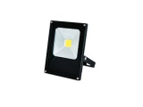 Reflektor 10W LED MCOB čierny DAISY