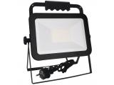 Reflektor 50W LED HQ LF2024H stavebný+držiak čierny