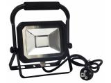 Reflektor 20W LED HQ LF2022H stavebný+držiak čierny